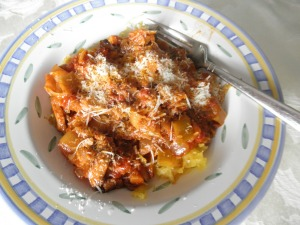 This ragu is delicious with spaghetti squash.